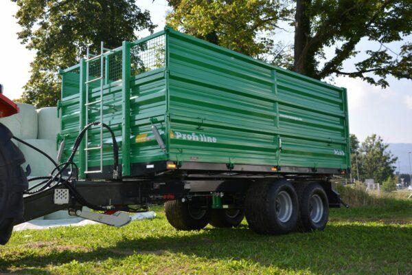 Traktoranhänger, WÖZ Anhänger, A150, 15000 kg, starker Tandem-Dreiseitenkipper, 3S-Kipper, Zweiachser, Kipper, Kippanhänger für Traktoren 8