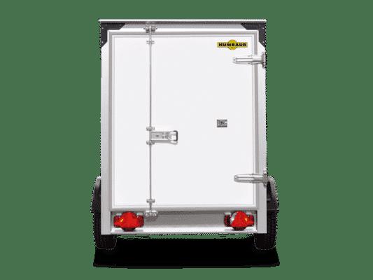Humbaur Kofferanhänger, HK752513-15P, Anhänger, Kofferaufbau, Einachser, Plywood, ungebremst 5