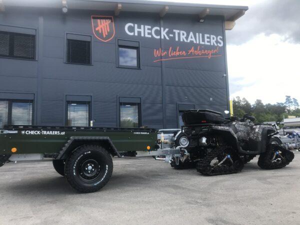 !Spezial-Offroad-Anhänger! TPV EB3 Kastenanhänger, 1300 kg Gesamtgewicht, gebremst, Anhänger für Quads, Offroad-Fahrzeuge und mehr 23