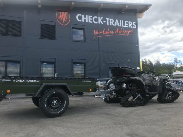 !Spezial-Offroad-Anhänger! TPV EB3 Kastenanhänger, 1300 kg Gesamtgewicht, gebremst, Anhänger für Quads, Offroad-Fahrzeuge und mehr 28