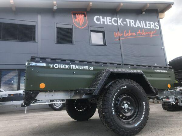 !Spezial-Offroad-Anhänger! TPV EB3 Kastenanhänger, 1300 kg Gesamtgewicht, gebremst, Anhänger für Quads, Offroad-Fahrzeuge und mehr 24