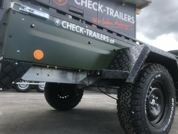 !Spezial-Offroad-Anhänger! TPV EB3 Kastenanhänger, 1300 kg Gesamtgewicht, gebremst, Anhänger für Quads, Offroad-Fahrzeuge und mehr 16