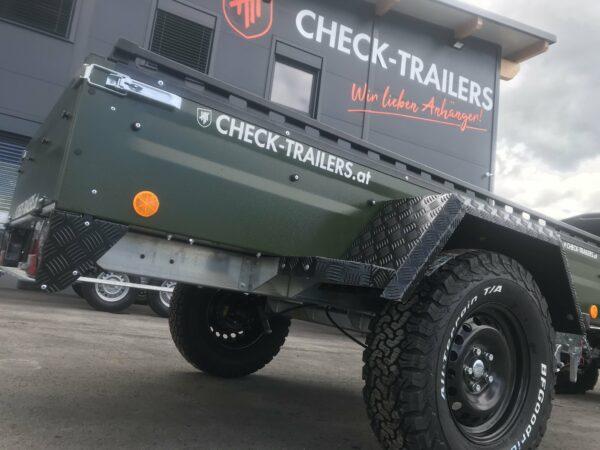 !Spezial-Offroad-Anhänger! TPV EB3 Kastenanhänger, 1300 kg Gesamtgewicht, gebremst, Anhänger für Quads, Offroad-Fahrzeuge und mehr 21