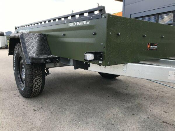 !Spezial-Offroad-Anhänger! TPV EB3 Kastenanhänger, 1300 kg Gesamtgewicht, gebremst, Anhänger für Quads, Offroad-Fahrzeuge und mehr 15