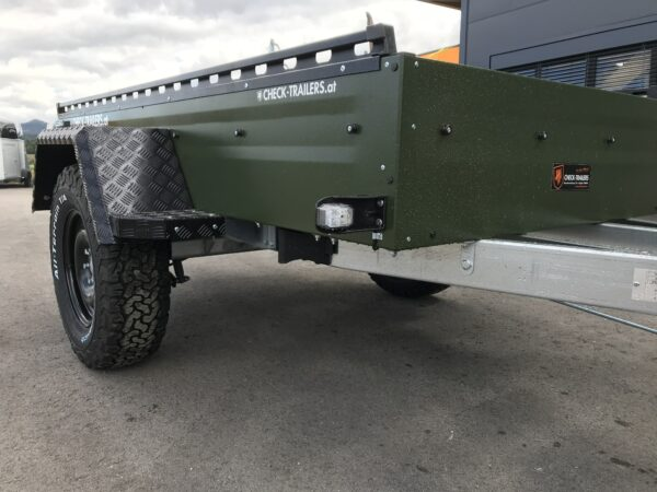 !Spezial-Offroad-Anhänger! TPV EB3 Kastenanhänger, 1300 kg Gesamtgewicht, gebremst, Anhänger für Quads, Offroad-Fahrzeuge und mehr 25