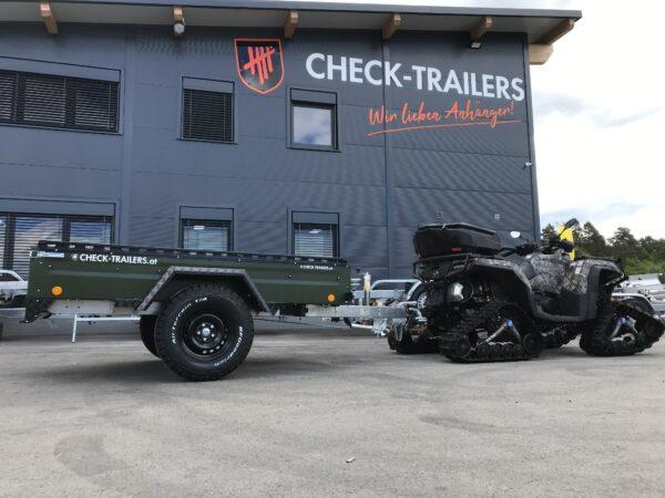 !Spezial-Offroad-Anhänger! TPV EB3 Kastenanhänger, 1300 kg Gesamtgewicht, gebremst, Anhänger für Quads, Offroad-Fahrzeuge und mehr 13