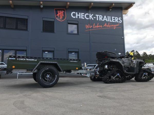 !Spezial-Offroad-Anhänger! TPV EB3 Kastenanhänger, 1300 kg Gesamtgewicht, gebremst, Anhänger für Quads, Offroad-Fahrzeuge und mehr 1