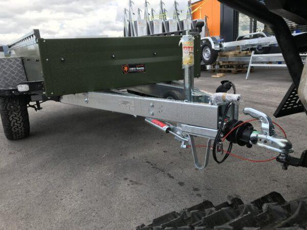 !Spezial-Offroad-Anhänger! TPV EB3 Kastenanhänger, 1300 kg Gesamtgewicht, gebremst, Anhänger für Quads, Offroad-Fahrzeuge und mehr 8