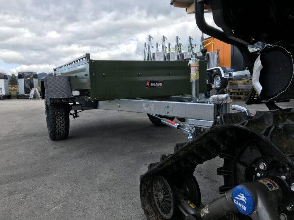!Spezial-Offroad-Anhänger! TPV EB3 Kastenanhänger, 1300 kg Gesamtgewicht, gebremst, Anhänger für Quads, Offroad-Fahrzeuge und mehr 7