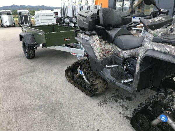 !Spezial-Offroad-Anhänger! TPV EB3 Kastenanhänger, 1300 kg Gesamtgewicht, gebremst, Anhänger für Quads, Offroad-Fahrzeuge und mehr 6