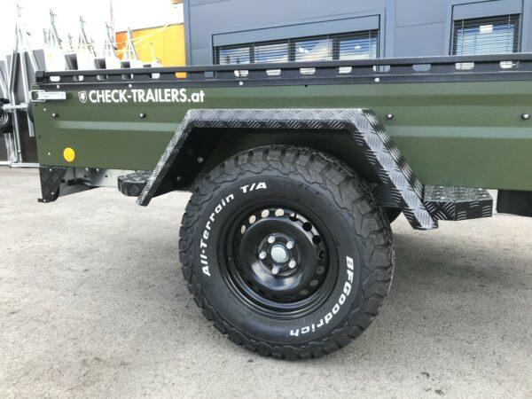 !Spezial-Offroad-Anhänger! TPV EB3 Kastenanhänger, 1300 kg Gesamtgewicht, gebremst, Anhänger für Quads, Offroad-Fahrzeuge und mehr 5