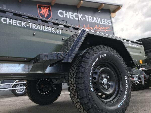 !Spezial-Offroad-Anhänger! TPV EB3 Kastenanhänger, 1300 kg Gesamtgewicht, gebremst, Anhänger für Quads, Offroad-Fahrzeuge und mehr 4