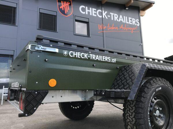 !Spezial-Offroad-Anhänger! TPV EB3 Kastenanhänger, 1300 kg Gesamtgewicht, gebremst, Anhänger für Quads, Offroad-Fahrzeuge und mehr 3