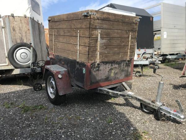 Gebrauchter ATZ Anhänger, Kastenanhänger mit hohen Bordwänden, offener Kasten, hohe Bordwand, leichter Anhänger 2